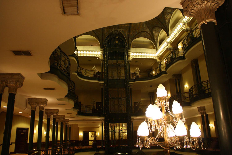 """""""Art Nouveau"""" para el disfrute de todos en el Gran Hotel."""
